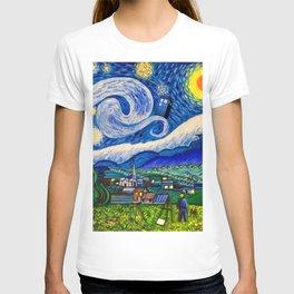 Tardis starrynight T-shirt