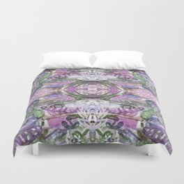 Lavender Eyes Duvet Cover