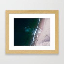 Ocean Walk III Framed Art Print