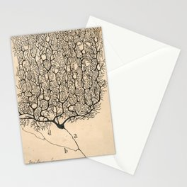 Neuron Drawing By Santiago Ramón Y Cajal Stationery Cards