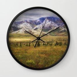 Denali National Park - Alaska Wall Clock