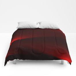 Cranberry & Black Lights Comforters