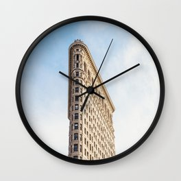 Flat Iron Friday Wall Clock