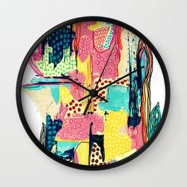 Ibérique #2 pastel Portugal Wall Clock