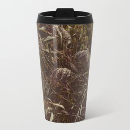 Brown grass Travel Mug