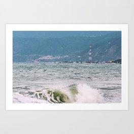 """""""Scilla and Cariddi """" - Sicily and Calabria Art Print"""