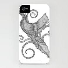 Whale Vs. Squid iPhone (4, 4s) Slim Case