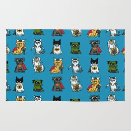 Superhero Puppies Rug