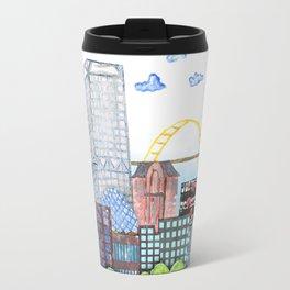 Milwaukee Watercolor Travel Mug