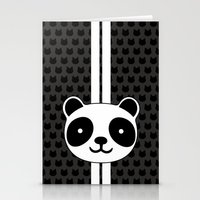 racing Stationery Cards featuring Racing Panda by XOOXOO