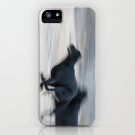 Flat Out Labradors iPhone Case