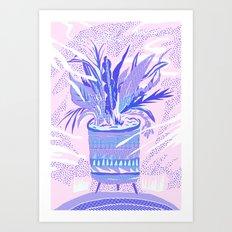 plant smell Art Print