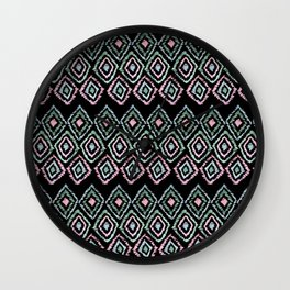 Ethnic pattern.1 Wall Clock