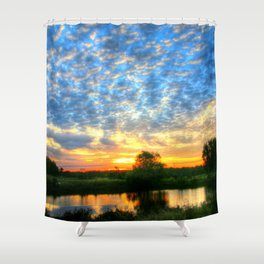 November East Texas Sunrise Shower Curtain