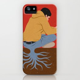 lazy lad iPhone Case