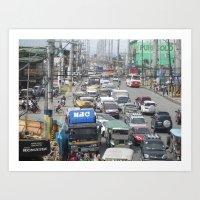 Imus Cavite. Art Print
