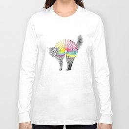 Slinky Cat Long Sleeve T-shirt