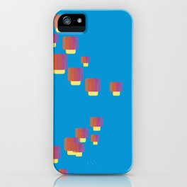 festival of lamps iPhone Case