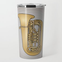 Tuba brass Travel Mug