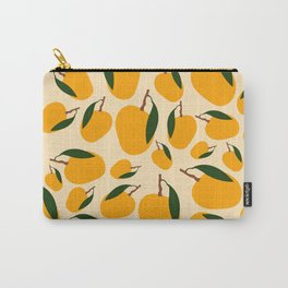 Mango Summer Fruit Pattern Carry-All Pouch