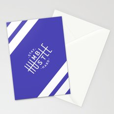 Stay Humble Hustle Hard Stationery Cards