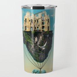 the elephant  Travel Mug