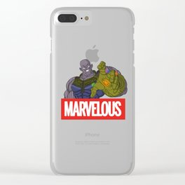 Marvelous! Clear iPhone Case