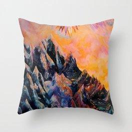 Divine Elevation Throw Pillow
