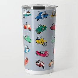 Boogie On Scooters Travel Mug