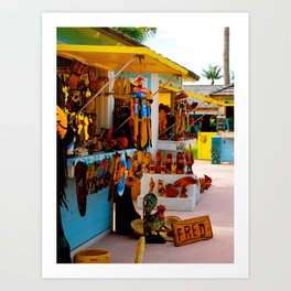 Bahama mama Art Print