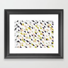 Mathematical Framed Art Print