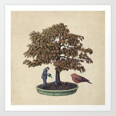 Enchanted Bonsai Art Print