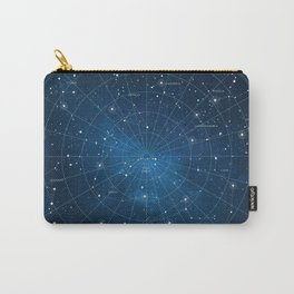 Constellation Star Map Carry-All Pouch