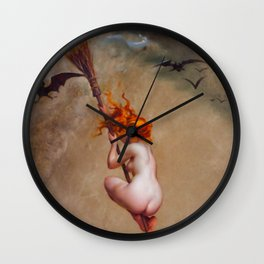 THE WITCH - LUIS RICARDO FALERO   Wall Clock