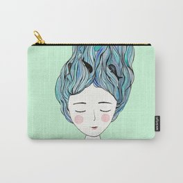 Dreaming of whales Carry-All Pouch