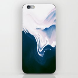 Distorted Mountains II iPhone Skin