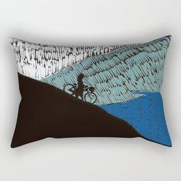 Never Rode My Bike Down To The Sea Rectangular Pillow
