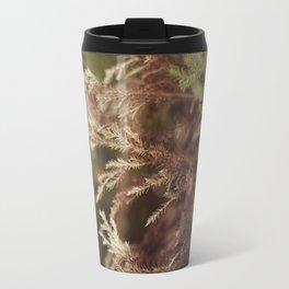 Pine and bokeh Travel Mug