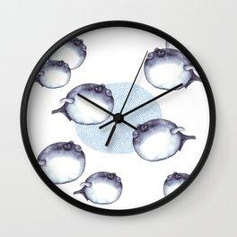 Fugu fish Wall Clock