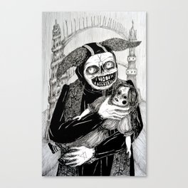 Favourite Doll\Finally Home Canvas Print