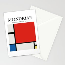 Mondrian - Composition with Red, Blue and Yellow Stationery Cards