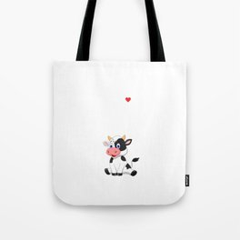 Cows are for Mooing Not BBQ'ing Vegan T-Shirt Tote Bag