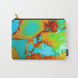 Orange to Blue Medley Carry-All Pouch