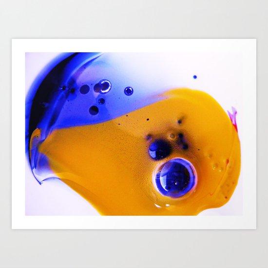 Yolk Art Print