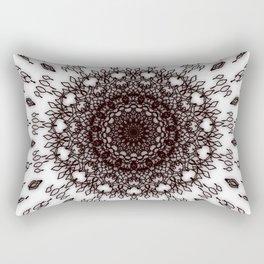 Big Flower Mandala Rectangular Pillow