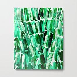 Green Sugarcane, Unripe Metal Print