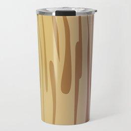Cute, design Wood lines Travel Mug