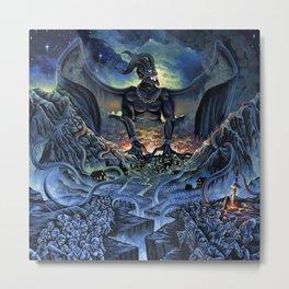 Typhon Monster Metal Print