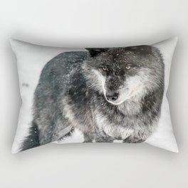 Alpha Wolf Rectangular Pillow