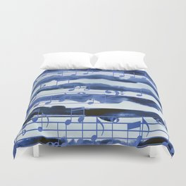 music of the sea Duvet Cover
